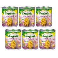 Milho ao vapor natural Bonduelle 200g ( pacote c/ 6 unid.)