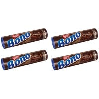 Biscoito Bono chocolate 126g.( pacote c/ 4 unid.)