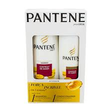 Kit Shampoo e Condicionador Pantene controle de queda