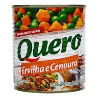 Ervilha e cenoura em lata Quero 200g