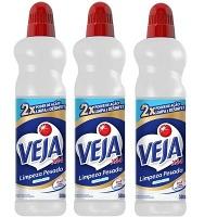 Limpador Veja limpeza pesada X-14 cloro ativo 2 em 1 500ml ( pacote c/ 3 unid.)