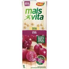 Bebida a base de soja sabor uva Mais Vita Yoki  1lt.