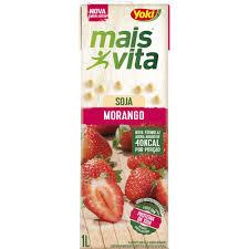 Bebida a base de soja sabor morango Mais Vita Yoki  1lt.
