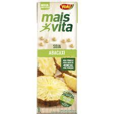 Bebida a base de soja sabor abacaxi Mais Vita Yoki  1lt.