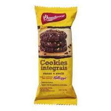 Cookies integrais de aveia com passas Bauducco 40g
