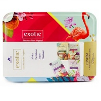 Kit sabonetes vegetais Exotic Davene 4x170g