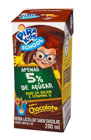 Achocolatado Pirakids School 200ml