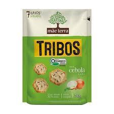 Biscoito salgado Orgânico salsa e cebolaTrIbos Mãe Terra 50g