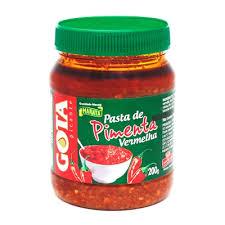 Pasta de pimenta vermelha Gota 200g