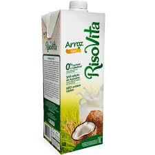 Bebida a base de arroz líquida sabor coco Risovita 1lt