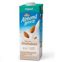 Bebida vegetal base de amêndoas Almond Breeze 1lt