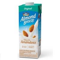 Bebida vegetal base de amêndoas Almond Breeze 1lt