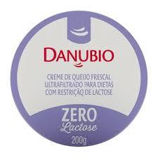 Creme de queijo frescal zero lactose Danubio 200g