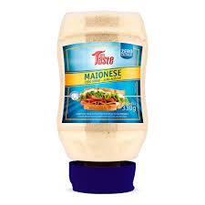 Maionese zero açucares e sódio Mrs Taste 350g