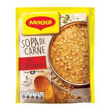 Sopa de carne c/ conchinhas Maggi 63g