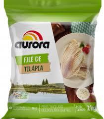 Filé de Tilápia congelado Aurora 800g