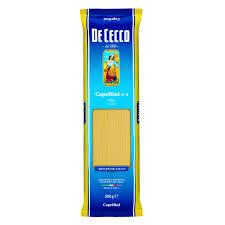 Massa grano duro Italiana Capellini 9  De Cecco 500g