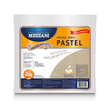 Massa de pastel quadrada Mezzani 2kg
