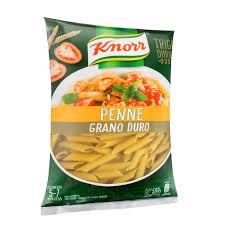 Massa grano duro penne Knorr 500g