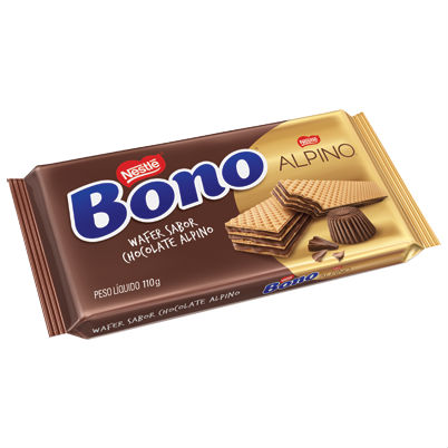 Wafer sabor chocolate Alpino Bono Nestlé 110g