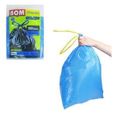 Saco azul para lixo com alças Lafra 100lts 5x1