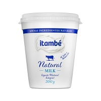 Iogurte integral Milk natural Itambé 500g