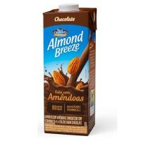 Bebida vegetal com amêndoas sabor chocolate Almond Breeze 1lt.