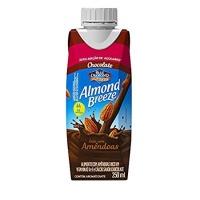 Bebida vegetal com amêndoas zero açucar sabor chocolate Almond Breeze 250ml