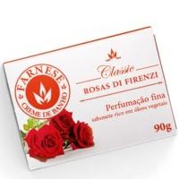 Sabonete Farnese clássico rosas de firenze 90g