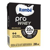 Bebida láctea Pro Whey baunilha Itambé  200ml