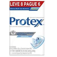 Sabonete limpeza profunda Protex 85g ( pacote c/ 8 unid.)