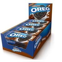 Biscoito Oreo recheado chocolate cx 8x36g