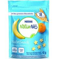 Biscoito Naturnes morango e banana Nestlé 42g
