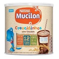 Mucilon Crescidinhos sabor chocolate Nestlé 250g