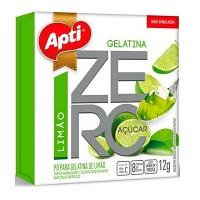 Gelatina Apti zero açucar limão 12g