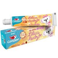 Gel dental sem flúor Baby Lilica Ripilica Condor 50g