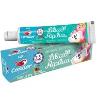 Gel dental com flúor Kids Lilica Ripilica Condor 50g