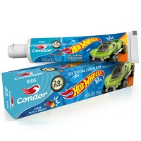Gel dental com flúor Kids Hot Wheels Condor 50g