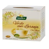 Chá verde com laranja Natural Life 22,5g
