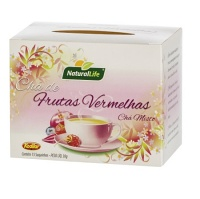 Chá frutas vemelhas Natural Life 30g
