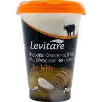 Requeijão cremoso de búfala zero lactose Levitare 200g
