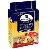 Fermento biológico seco instantâneo massa doce Itaiquara 500g