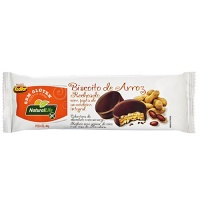 Biscoito de arroz recheado com pasta de amendoim sem glúten Natural Life40g