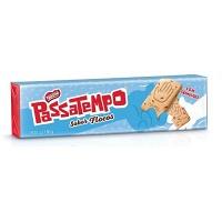 Biscoito recheado Passatempo seco doce flocos Nestlé 150g