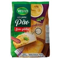 Mix sem glúten para pão tradicional Vitao 300g