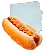 Saco plástico para hot dog (500 unid.)