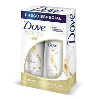 Kit shampoo e condicionador Oleo Nutrição Dove