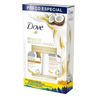 Kit shampoo e condicionador Ritual de Reparação Dove