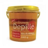 Cera depilatória Depille mel de abelhas 280g