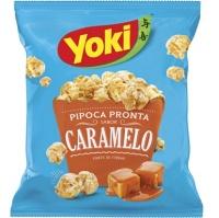 Pipoca pronta sabor caramelo Yoki 100g